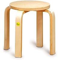 "Erzi Hocker 35 aus Formholz 35 cm Kinderhocker Kinderm""bel Kinder Stuhl Holz preisvergleich bei kinderzimmerdekopreise.eu"