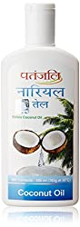 Patanjali Coconut Oil, 200ml (Pack of 3)