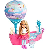 Barbie Dreamtopia Magical Dreamboat Mágico de Chelsea Mattel DWP59