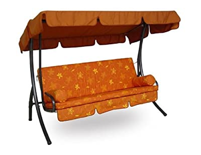 Angerer Trend Hollywoodschaukel 3-Sitzer Design Bambus
