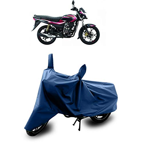 SnehaSales Bajaj Platina 110 H Gear Waterproof-Anti Rain-Sun UV Protection-Dustproof Bike Cover (Navy Blue)