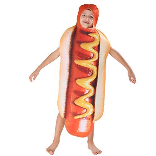 EraSpooky Halloween Hot Dog Kostüm Fuß - Hot Dog Kostüm Kinder