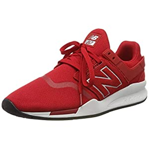 New Balance 247v2, Men Low-Top Trainers, Red (Team Red Team Red), 9.5 UK (44 EU)