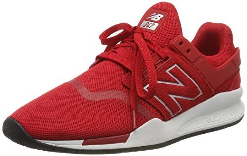 New Balance Herren 247v2 Sneaker, Rot Team Red, 46.5 EU (Herren New Rot Balance Schuhe)