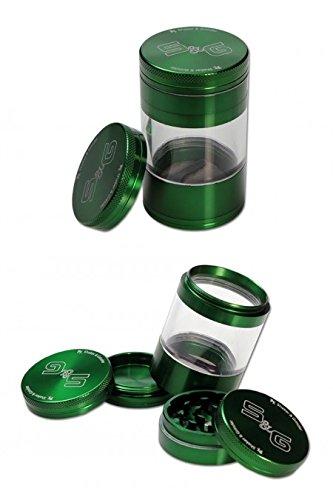 SF Black Leaf Shaker & Grinder 5 teilige Kräutermühle Grün (Ø 56 mm; H: 92 mm)