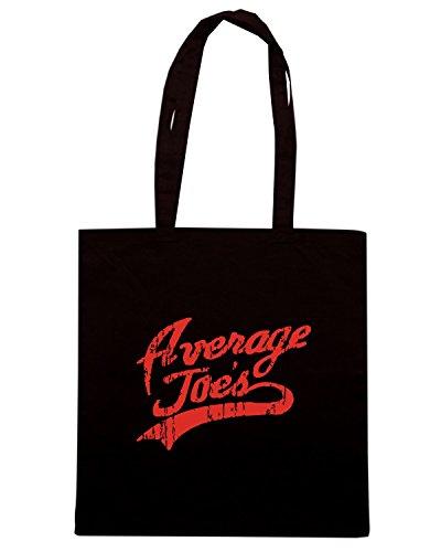 T-Shirtshock - Borsa Shopping FUN0657 Average Joes Nero