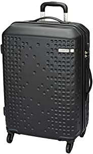 American Tourister Cruze ABS 70cm/24inches Black Hardsided Suitcase