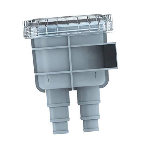 Descripción:       - Filtro / filtro de agua de mar 100% nuevo. - Diseño de interfaz múltiple, instalación conveniente y rápida. - La cubierta es fácil de quitar, la parte superior transparente permite una fácil visualización del filtro - Se ...