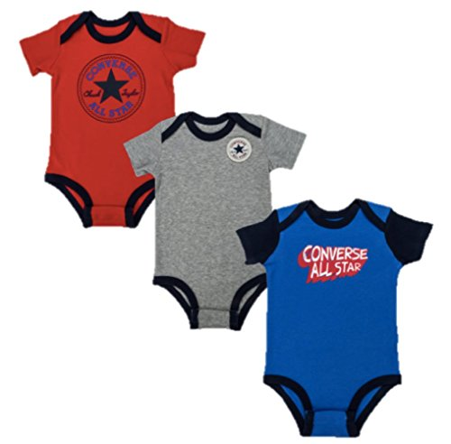 Converse Baby Boy 3 Pack Vests