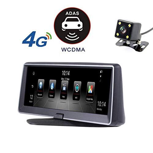 RDJM Auto Dashboard Kamera Vorne Und Hinten 1080 P Full HD Video Autofahren Recorder, DVR Mit G-Sensor, Loop-Aufnahme, (Enthält 16G SD-Karte)