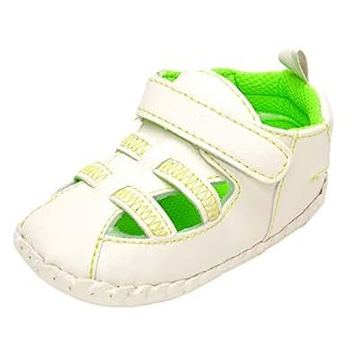 ESTAMICO, Scarpe primi passi bambini, verde (Green), 12-18 mesi
