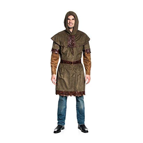 Kostümplanet® Little John Kostüm Herren Mittelalter-Kostüm Größe - Für Erwachsenen Mittelalter Mann Kostüm