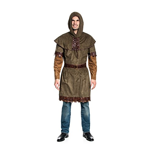 John Kostüm Herren Mittelalter-Kostüm Größe 48/50 (Robin Da Hood Kostüme)