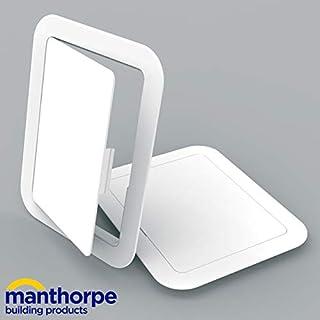 Manthorpe GL100 White Plastic 150mm x 200mm Access Panel Inspection Hatch