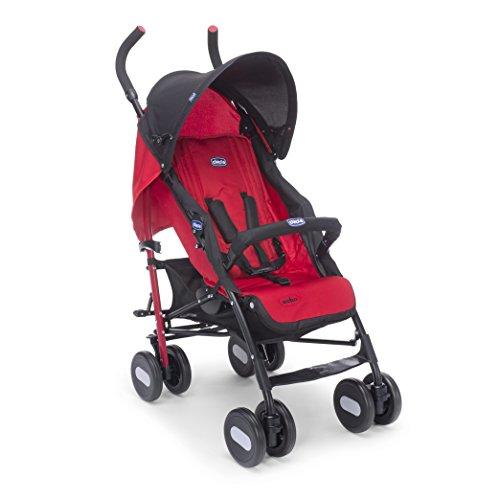 Chicco Echo Basic Stroller with Bumper Bar (Garnet)