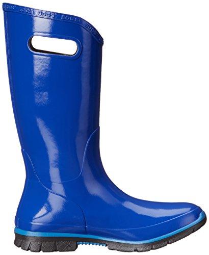Bogs Womens Berkley Rubber Boots Bleu - bleu