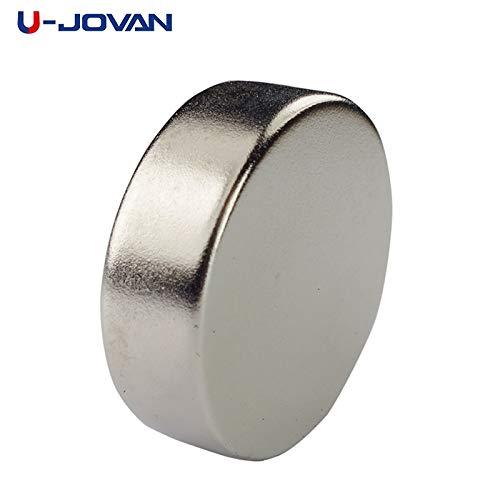 2pcs 30 x 10 mm N35 LeistungsStarke super starke 30mm x 10mm Dauer Magnet kleine Runde Handwerk seltene Erde Neodym Magnet (Kleine Handwerks-magneten)