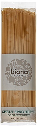 Biona Organic White Spelt Spaghetti 500g (Pack of 5)