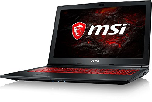 MSI Gaming GL62M 7REX-2068IN 15.6-inch Laptop (7th Gen Core i7-7700HQ/8GB/128GB SSD+1TB/Windows 10/4GB Graphics), Black