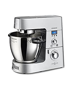 Kenwood KM096 Cooking Chef Impastatrice Planetaria, con Frullatore e Food Processor