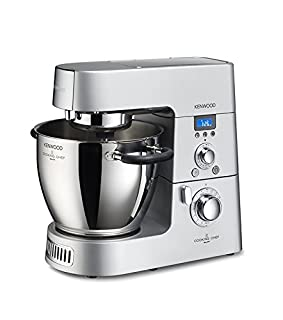 Kenwood KM096 Cooking Chef Impastatrice Planetaria, con Frullatore e Food Processor, 1500 W, Alluminio Pressofuso, Grigio (B00OUT616Y) | Amazon price tracker / tracking, Amazon price history charts, Amazon price watches, Amazon price drop alerts