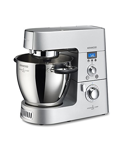 Kenwood KM096 Cooking Chef Impastatrice Planetaria, con Frullatore e Food Processor, 1500...