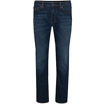 BOSS Hugo Boss Regular Fit Maine3 Jeans Mid Blue