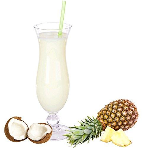Pina Colada Geschmack Proteinpulver Vegan mit 90% reinem Protein Eiweiß L-Carnitin angereichert für Proteinshakes Eiweißshakes Aspartamfrei (1 kg)