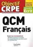 QCM Français - Admissibilité Ecrit