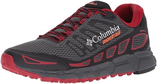 Columbia Scarpe da Uomo da Trail Running, BAJADA III, Grigio (Graphite, Tangy Orange), Misura: 43.5
