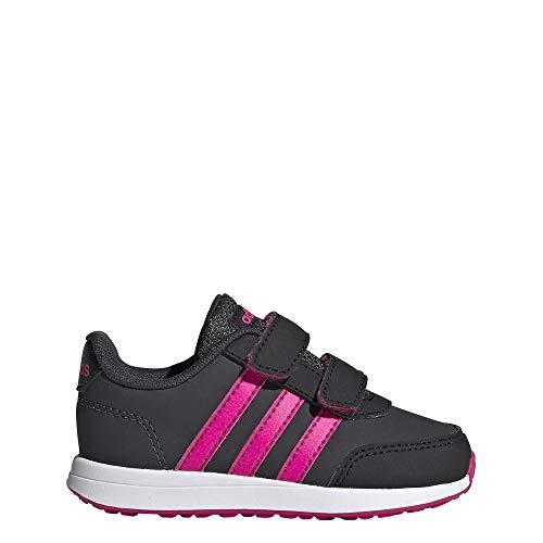 Adidas Vs Switch 2 CMF Inf, Zapatillas de Estar por casa Bebé Unisex, Multicolor Carbon/Rossho/Negbás...
