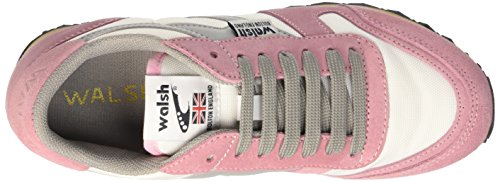 Walsh V10, gymnastique femme Multicolore (Bright Blanc/Rose Shadow)
