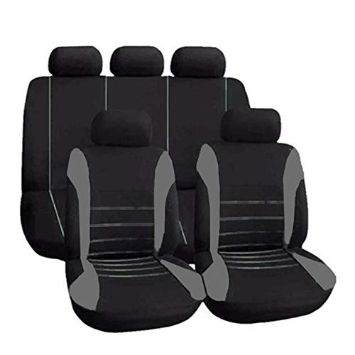 Cubierta del vehículo Cubiertas del asiento del coche universales Cubierta completa del asiento del automóvil Accesorios interiores del automóvil Cubierta completa para el cuidado del automóvil