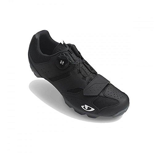 Giro Cylinder MTB, Zapatos de Bicicleta de montaña para Hombre, (Black 000), 44.5 EU