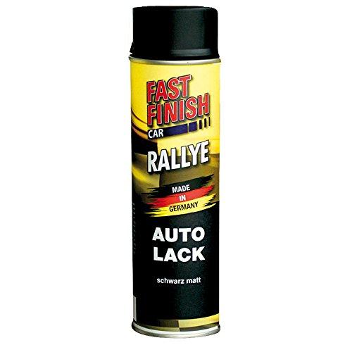 3x 500 ml FAST FINISH Rallye Felgenlack Schwarz Matt Spraydose Felgen 292828 -
