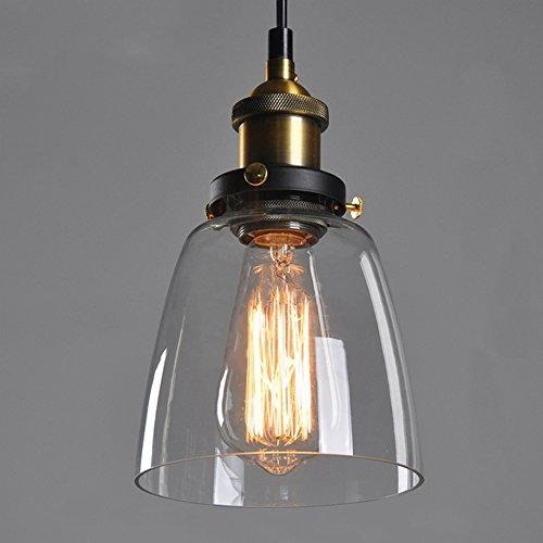 Retro Industrial Glass Ceiling Lamp Shade, verre abat-jour pour Light Lamp, rétro ombre de la lampe industrielle