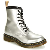 Dr. Martens 1460 Vegan Women's Boots  Synthetic Boots  Details: b>  Upper: Synthetic  Sole: Synthetic  Lower block heel