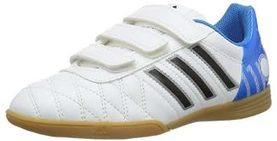 adidas Performance 11Questra In J H&L M22529, Herren Sportschuhe - Fitness, Weiß (RUNNING WHITE / BLACK 1 / SOLAR BLUE2 S14), EU 39 1/3