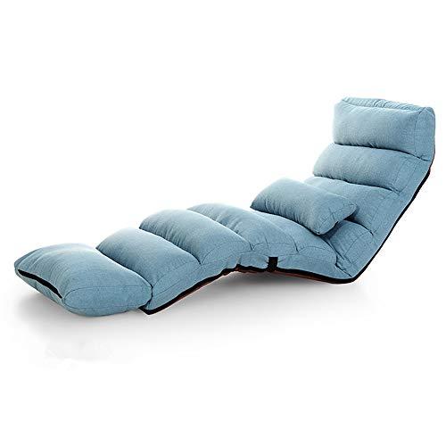 Baoniansoo Lazy Sofa, Couchbetten, Lounge-Sessel mit Kissen, modernes Schlafsofa, gepolsterter Lounge-Sessel, Verstellbarer Schlafsessel im Wohnzimmer