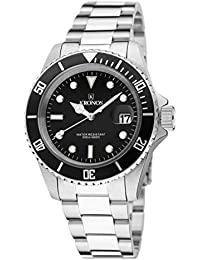 Kronos - Sport Q 200MTS Black 977.8.55 - Reloj Diver de caballero de cuarzo