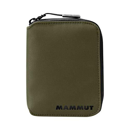 Mammut Cartera SEON Zip Portadocumentos, Unisex Adulto, Verde (Olive), Talla Única