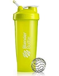 BlenderBottle Classic Loop Shaker | Eiweiß Shaker | Diät Shaker | Protein Shaker mit Blenderball grün 940ml