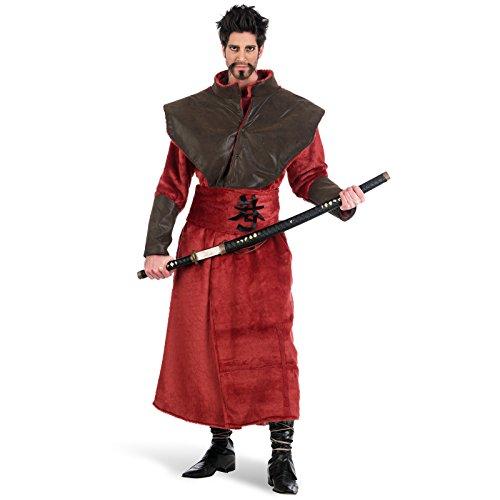 Imagen de limit sport  disfraz abrigo de samurái para adultos, talla xl ma692
