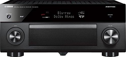Yamaha RX-A2070 Schwarz - 9.2 AV-Receiver (220 Watt, Bluetooth, dtsX, DAB+, Zone 4, Dolby Atmos) (Aventage Yamaha)