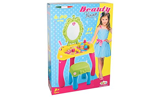 Unogiochi 6893Prinzessin Beauty Spiegel mit Kindersitz