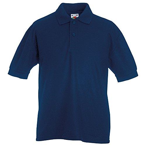 Fruit of the Loom Boys & Girls Kids 65 35 Pique Polo Shirt -