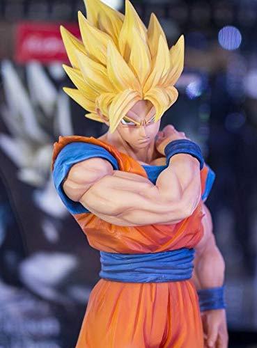 22 cm Dragon Ball Z Goku Figura de acción Colección de PVC Modelo de Juguetes brinquedos Base