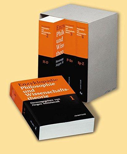 Enzyklopädie Philosophie und Wissenschaftstheorie 4 Bde. Sonderausgabe: 4 Bände im bedruckten Pappschuber;