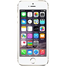 "Apple iPhone 5s - Smartphone libre iOS (pantalla 4"", cámara 8 Mp, 16 GB, Dual-Core 1.3 GHz, 1 GB RAM), dorado"