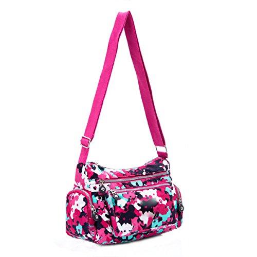 Ms. Messenger Bag Femminile BUKUANG Oxford Di Nylon Piccola Borsa Borsa Mamma Di Mezza Età Borsa Da Viaggio Di Tela,P N